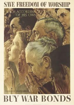 SovMusPosters_dop_23_Save freedom of worship_Norman Rockwell1943 71x102cm.jpg